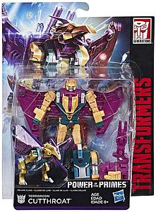 Transformers Generations Power of the Primes Deluxe Class Terrorcon Cutthroat