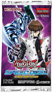 YuGiOh Trading Card Game Pack: Speed Duel - Attack from the Deep Booster Pack