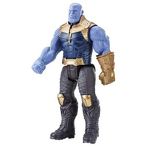 "Marvel Avengers Infinitive War Titan Hero Series 12"" Action Figure Thanos (with Power Fx Port)"