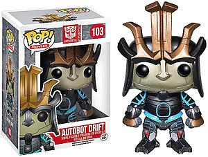 Pop! Movies Transformers 4 Vinyl Figure Autobot Drift #103 (Vaulted)