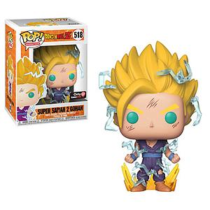 Pop! Animation Dragon Ball Z Vinyl Figure Super Saiyan 2 Gohan #518 GameStop / EB Games Exclusive