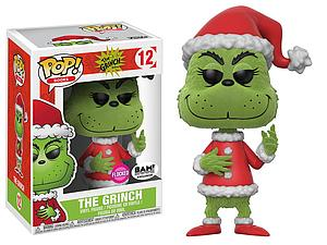 Pop! Books The Grinch Vinyl Figure The Grinch (Flocked) #12 BAM Exclusive