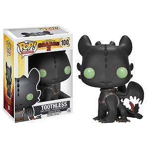Pop! Movies How to Train Your Dragon 2 Vinyl Figure Toothless #100 (Vaulted)
