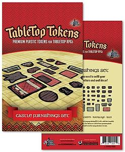 Tabletop Tokens - Castle Furnishings Set