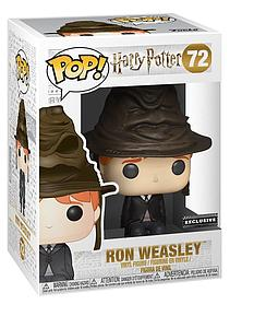 Pop! Harry Potter Vinyl Figure Ron Weasley (Sorting Hat) #72 FYE Exclusive