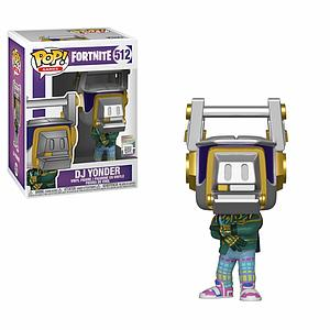 Pop! Games Fortnite Vinyl Figure DJ Yonder #512