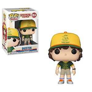 Pop! Television Stranger Things Vinyl Figure Dustin (at Camp) #804