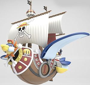 One Piece Grand Ship Collection Model Kit: Sunny (Flying Model)