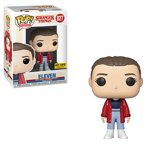 Pop! Television Stranger Things Vinyl Figure Eleven (Slicker) #827 Hot Topic Exclusive