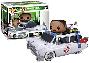 Pop! Rides Movies Ghostbusters Vinyl Figure & Winston & Ecto-1 #04