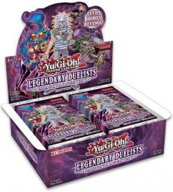 YuGiOh Trading Card Game Pack: Legendary Duelists - Immortal Destiny Booster Box