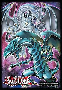 YuGiOh! Card Sleeves 50-pack Small Size: Double Dragon