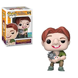 Pop! Disney The Hunchback of Notre Dame Vinyl Figure Quasimodo Holding Gargoyle #574 2019 Summer Convention Exclusive