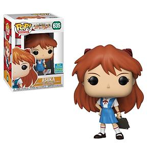 Pop! Animation Evangelion Vinyl Figure Asuka (School Uniform) #635 2019 Summer Convention Exclusive