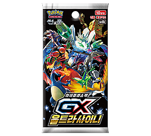"Pokemon Trading Card Game: Sun & Moon High Class ""GX Ultra Shiny"" Booster Pack"