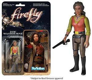 ReAction Figures Firefly Series Zoe Washburne (Retired)