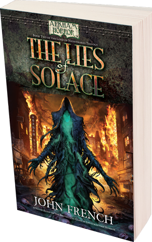 Arkham Horror: The Lies of Solace [Paperback]