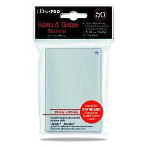 Card Sleeves Board Game Standard European Size 59 x 92mm (50 Pack)