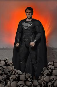 DC Comics Man of Steel Movie(2013) 1/4 Scale Superman Figure Krypton Suit