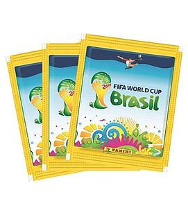 2014 Panini FIFA World Cup Brazil Sticker Pack