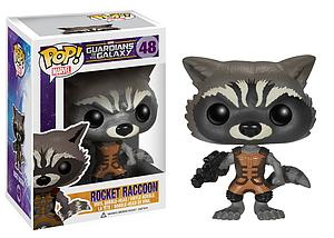 Pop! Marvel Guardians of the Galaxy Vinyl Bobble-Head Rocket Raccoon #48 (Vaulted)