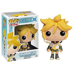 Pop! Rocks Vocaloid Vinyl Figure Kagamine Len #38 (Vaulted)