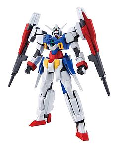 Gundam High Grade Gundam Age 1/144 Scale Model Kit: #017 Gundam AGE-2 Double Bullet