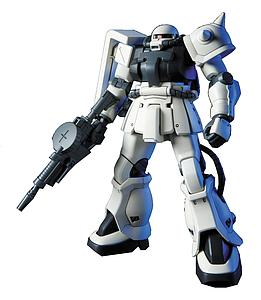 Gundam High Grade Universal Century 1/144 Scale Model Kit: #107 MS-06F-2 Zaku II F2 (E.F.F Ver.)