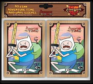 Cryptozoic Card Sleeves Standard Size 66 x 91mm: Adventure Time Finn (80 Pack)