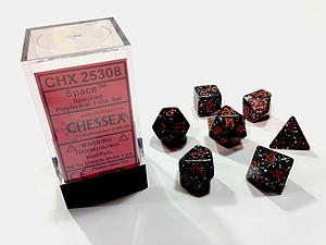 Dice 7-Piece Polyhedral Set - Speckled Space