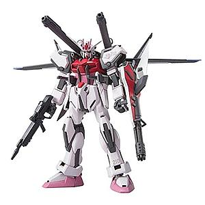 Gundam High Grade Gundam Seed 1/144 Scale Model Kit: #01 Strike Rouge + IWSP