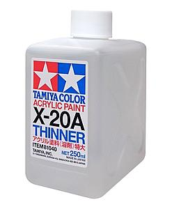 TAMIYA Color Acrylic Paint X-20A Thinner (TAM81040)