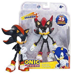 "Sonic the Hedgehog 20th Anniversary 6"" Super Posers: Shadow"