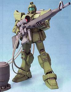 Gundam Master Grade 1/100 Scale Model Kit: RGM-79G GM Sniper