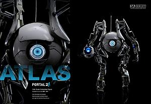 3A Portal 2 1/6 Scale Collectible Figure: Atlas