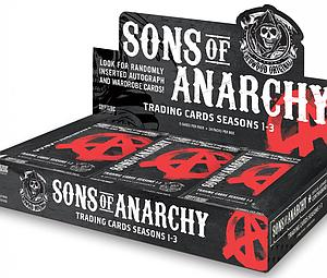 Cryptozoic Sons of Anarchy Television Seasons 1 - 3 Trading Cards: Booster Box