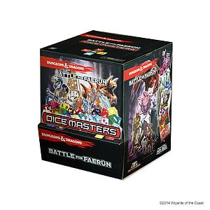 Dungeons & Dragons Dice Masters: Battle of Faerun Gravity Feed Box (90 Packs)