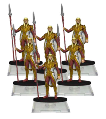 Attack Wing: Dungeons & Dragons Sun Elf Guard Troops Pack