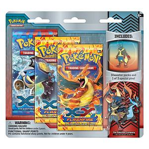 Pokemon Trading Card Game Collector's Pin Pack: Mega Lucario
