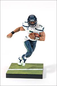 NFL Sportspicks Series 35 Russell Wilson White Jersey (Seattle Seahawks)
