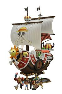 One Piece Ship Model Kit: Thousand Sunny New World Ver.