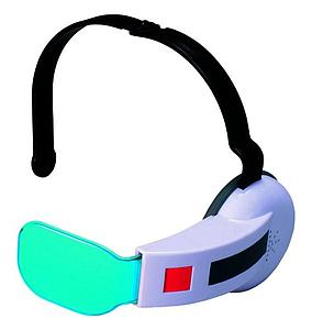 Dragon Ball Z Saiyan Scouter Prop Replica With Sound - #1 Blue Lens