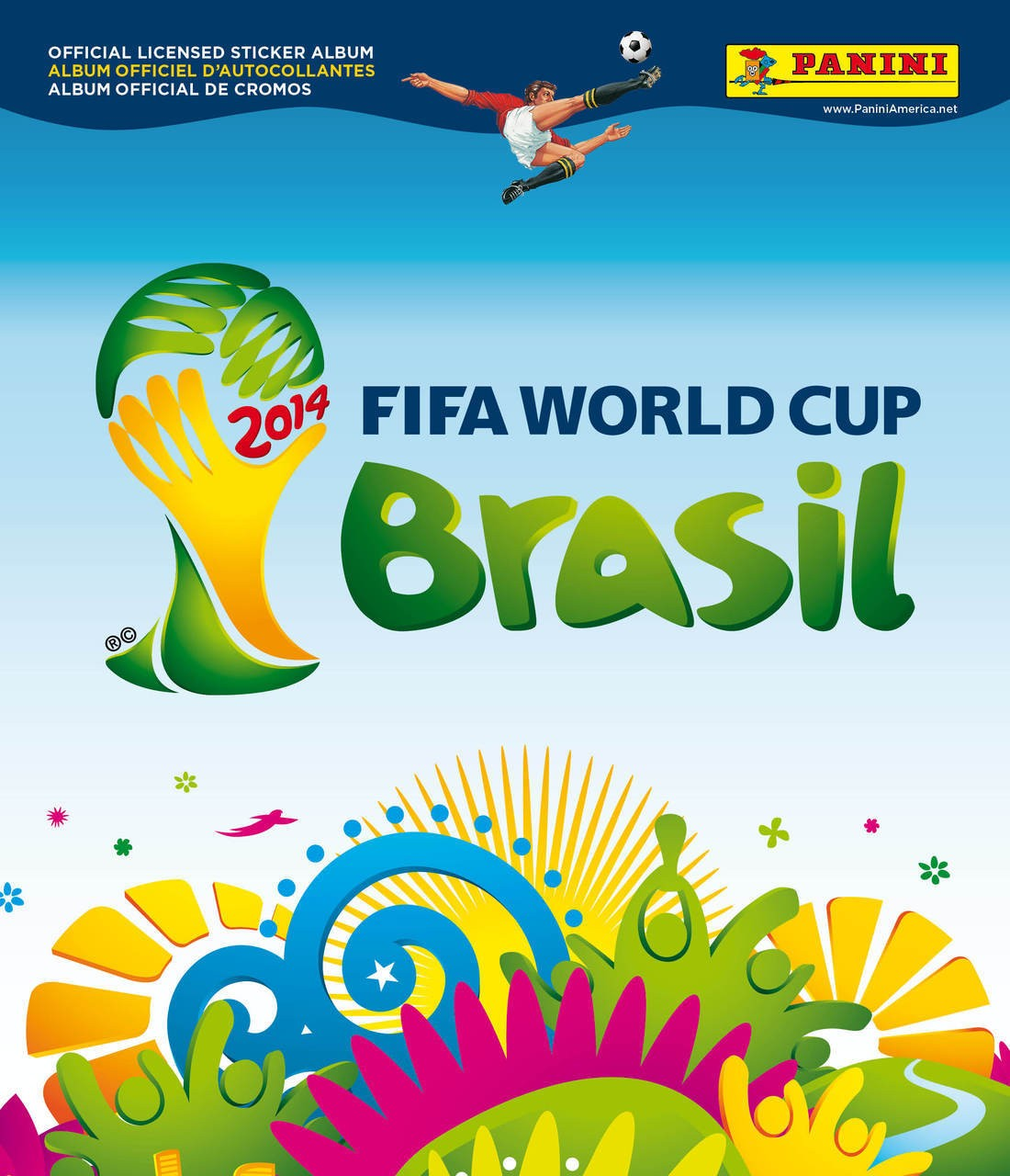 2014 Panini FIFA World Cup Brazil Sticker Book