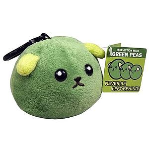 Toynami Mameshiba Clip On Plush: Green Pea