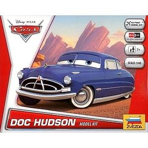 Zvezda Disney Cars 1:43 Scale Model Kit: Doc Hudson