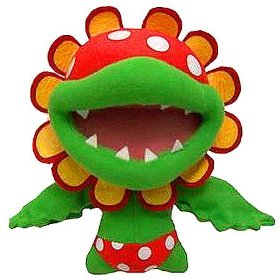 "Super Mario Bros Piranha Plant Pete (12"")"