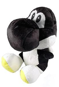 "Plush Toy Super Mario Bros 12"" Yoshi Black"