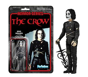 ReAction Figures Horror Series The Crow Eric Draven (Vaulted)