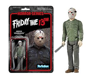 ReAction Figures Horror Series Friday the 13th Jason Voorhees (Vaulted)