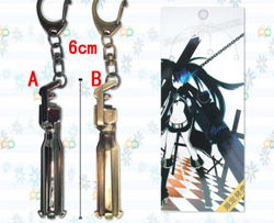 Black Rock Shooter Keychain: Cannon